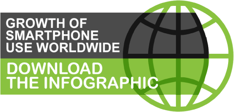 download infographic growth of smartphone use worldwide