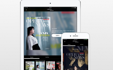 OPERA NEWS – Digital replica